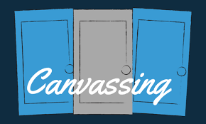 Old Town Canvassing  Sunday, April 8, 2018 @ Lee Fink's House