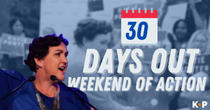 30 Days Out: Katie Porter Weekend of Action @ Virtual event! Join from anywhere