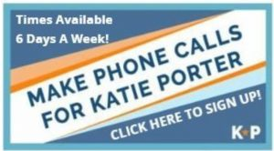Call For Katie Porter! @ Your House On ZOOM